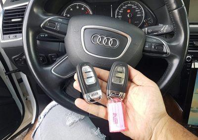 מפתחות לרכבי אאודי